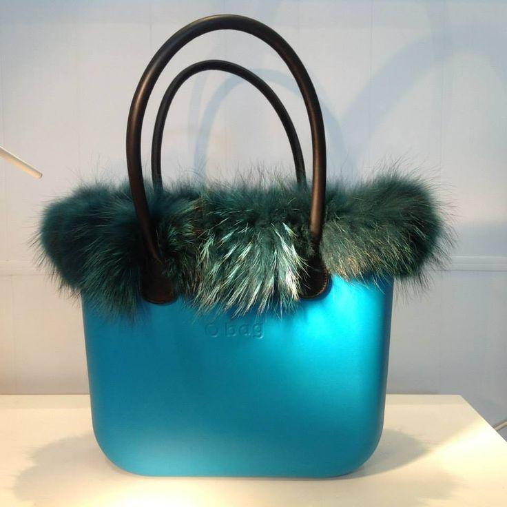 O BAG+ANSES CUIR+FOURRURE MARMOTTE:280 euros #fullspotbiarritz #obag #fullspot #furischic