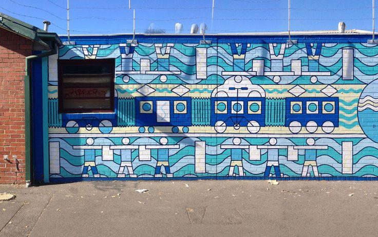 Melbourne Muralist   Kay & Burton