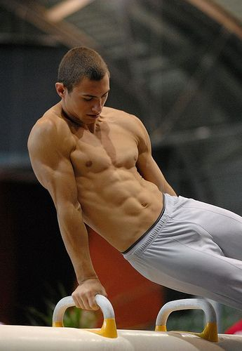 male gymnast body.............like I could force myself to do this workout