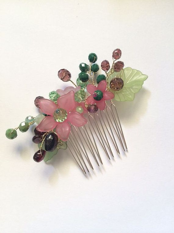 Hey, I found this really awesome Etsy listing at https://www.etsy.com/listing/204970544/wire-wrapped-jewelry-handmade-hair-comb