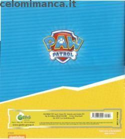 Retro dell'Album Paw Patrol