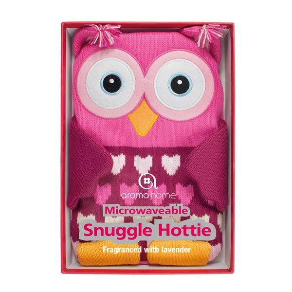 Pink Owl Knitted Hottie — PJ's and Prose