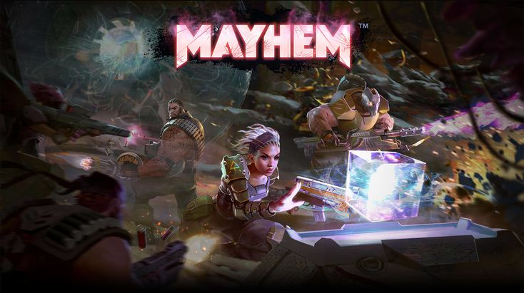 Mayhem is a crushingly competitive furiously fun team action game coming soon for Android and iOS. Pre-register now for bonus rewards!