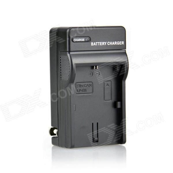 Color: Black; Plug Specifications: US Plug (2-Flat-Pin Plug); Brand: DSTE; Model: DC88; Material: ABS; Quantity: 1 Piece; Compatible Brand: Canon; Compatible Models: 5D mark ii iii EOS 60D 7D 6D 70D 60Da; Compatible Battery Model: Canon LP-E6; Input Hertz: 50/60 Hz; Input Current: 150 mA; Output Current: 600 mA; Input Voltage: Others,100~240 V; Output Voltage: Others,8.4 V; Other Features: DC 12~24V; Packing List: 1 x Battery charger; http://j.mp/VAnixY
