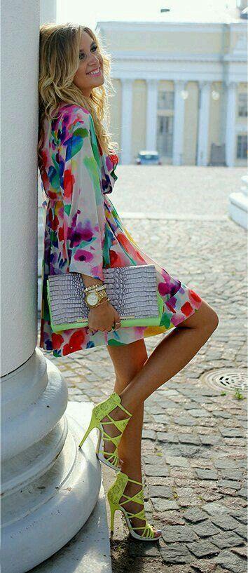 Colourfule dress