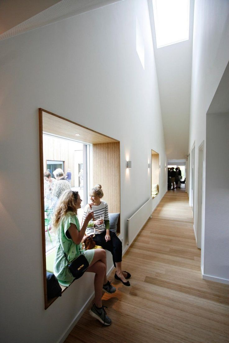Kids school interior design - Effekt Livsrum Cancer Counseling Center N Stved School Designinterior Architecturecounselingcancerdenmarkhospitalstowerkindergartenkid