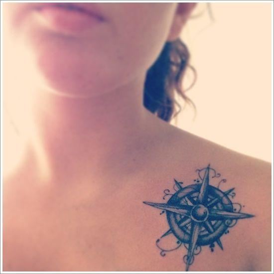 38 best images about tatouage boussole et rose des vents on pinterest compass tattoo a - Tatouage rose des vents ...
