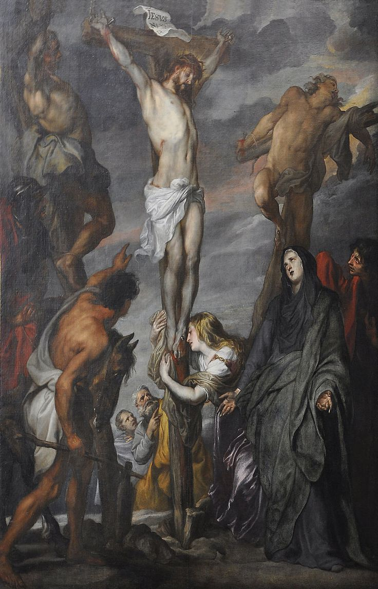 Anthony van Dyck - Christ on the cross in the Sint-Romboutskathedraal