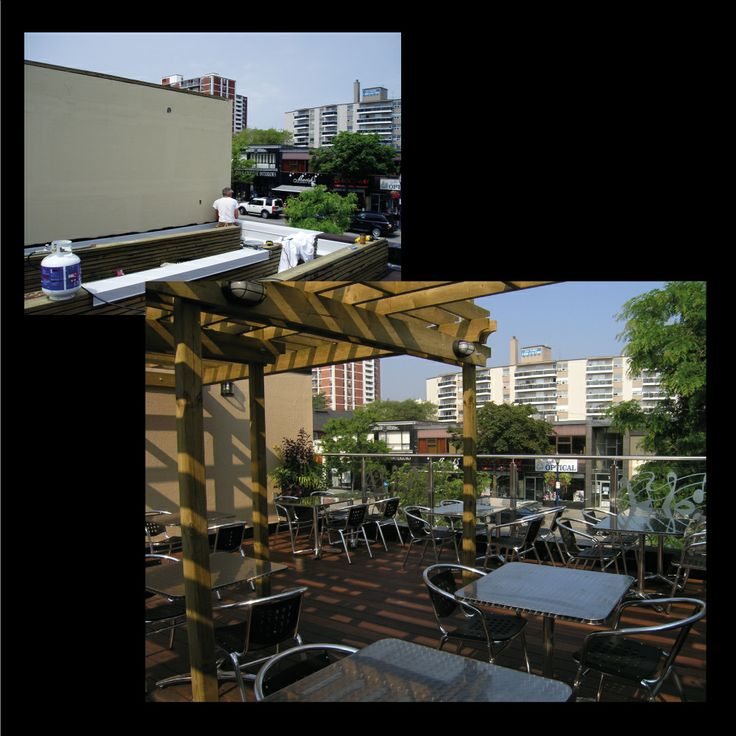 Rooftop patio- part 2