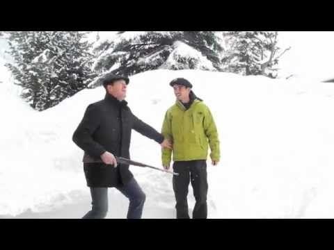 Pralognan-la-Vanoise, la neige est encore là ! - YouTube avec Mateï