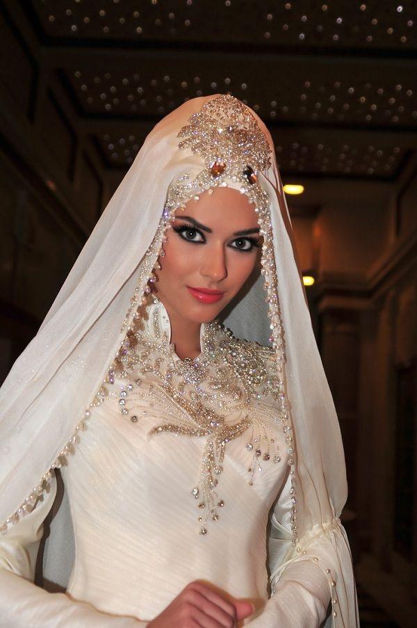 Hijab  Fashionable Wedding Veils