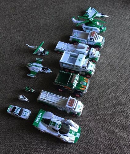 NEW Lot Of (13) 2016 Hess Toy Truck and Dragster, NIB, NBO