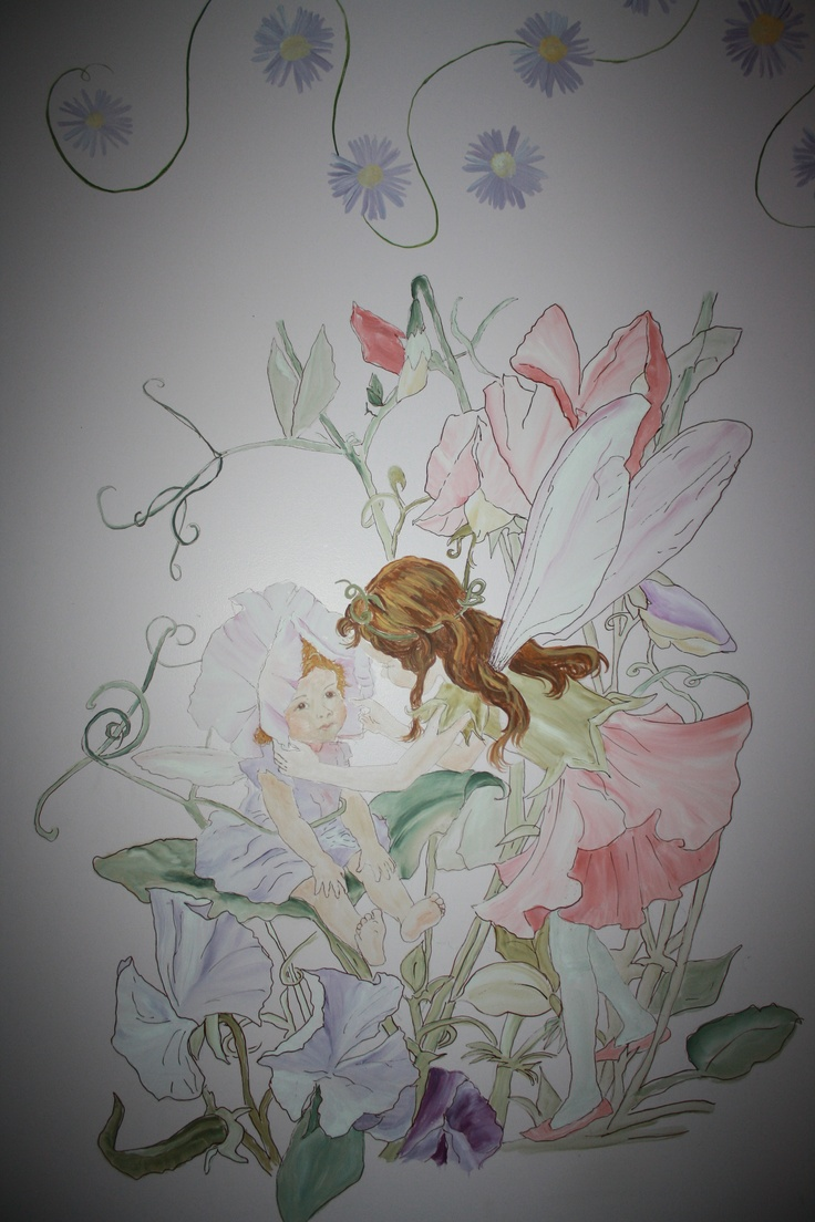 16 best girls room images on pinterest fairy nursery fairy flower fairy murals reminds me of the girls