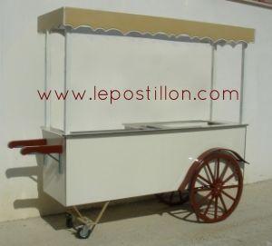Ice cream cart, Eisfahrrad, charrette à glace, carretto gelati, carro del helado, catering