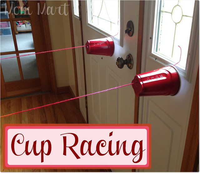 Cup Racing Craft for Kids