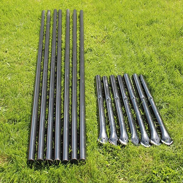 8' H Deer Fence Heavy Line Posts 7 Pack Fence Parts