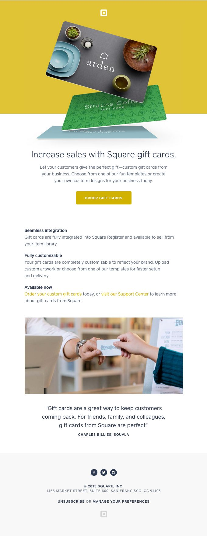 The best email designs in the universe that came into my inbox newsletter designincrease salesemail