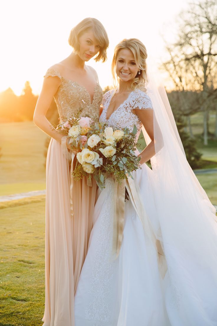 Taylor Swift Is 'Happiest Maid of Honor' At Her Childhood Friend's Wedding, Britany Maack