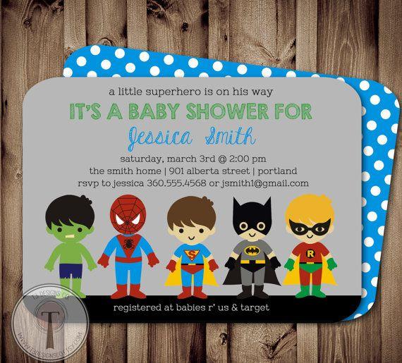 So cute:) love little superheros