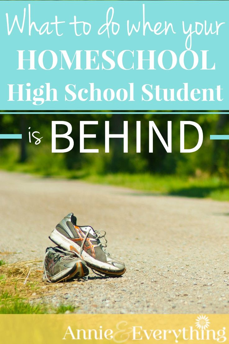 If you homeschool high school, the thought of being behind is a scary one. This article has ideas that I had not thought of before, that you can start implementing today to ease your fears!
