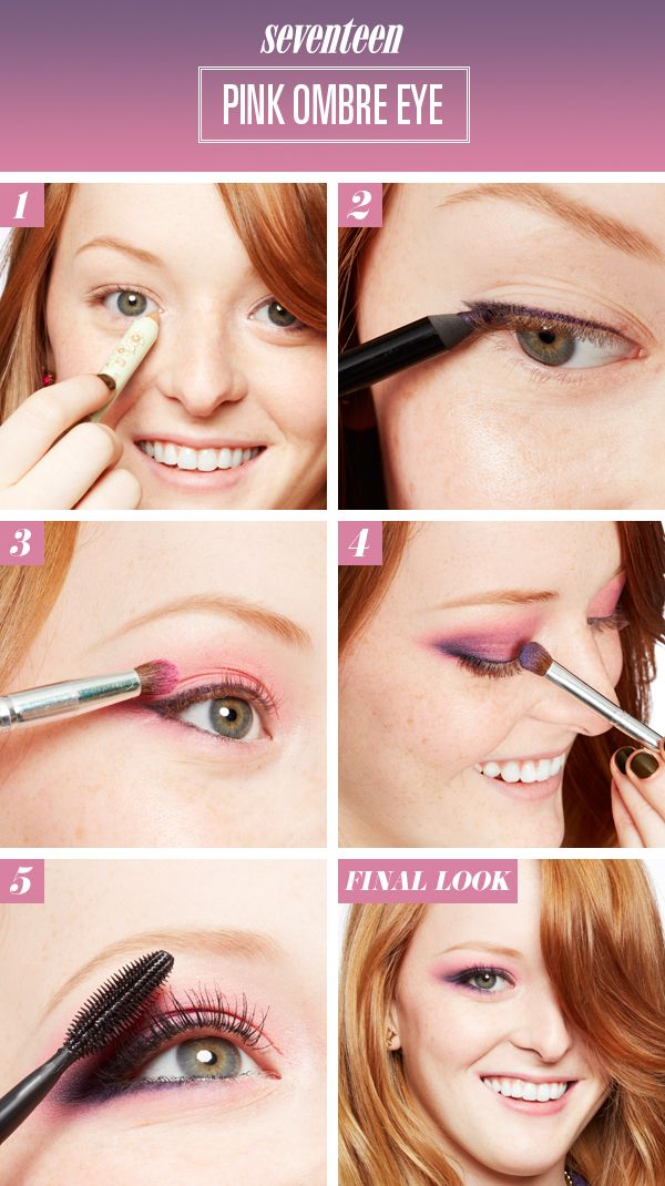 Ombre Eyes Makeup Tutorial - How To Get Ombre Eyes - Seventeen