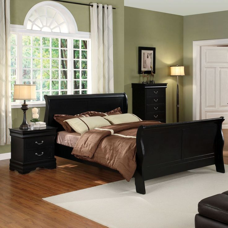 Best 25+ Black Sleigh Beds Ideas On Pinterest