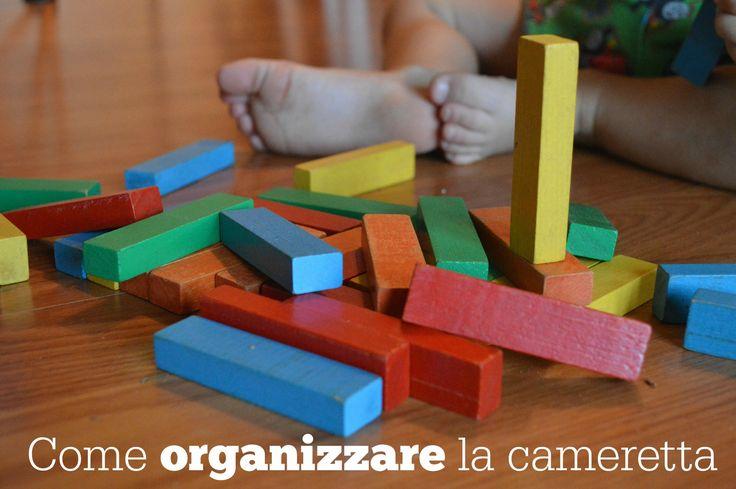 Come organizzare la cameretta per guadagnare spazio per il gioco e il relax dei bambini. Come pulire la cameretta in modo ecologico e naturale.