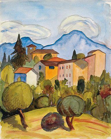 Certenago, 1926         © Fondazione Hermann Hesse Montagnola