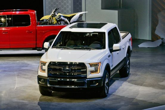 2015 Ford F-150 Truck going to be an awesome body change wonder what the interior is going to look like