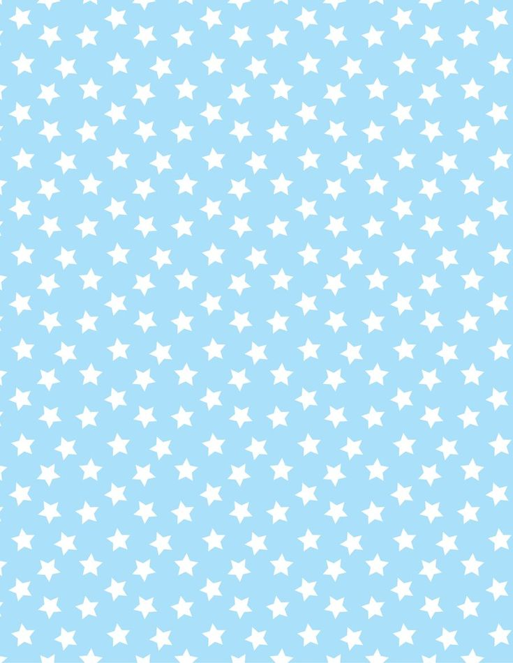 Baby blue with white stars paper. Printable image for scrapbooking, wrapping paper, crafts, etc. (I'm not having much luck navigating the site, but that may be because I haven't signed up.)