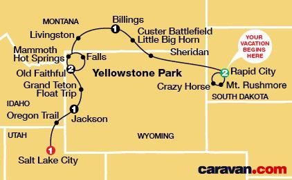 Caravan Tours ~ Mt Rushmore Tour ~ Bruce W recommends
