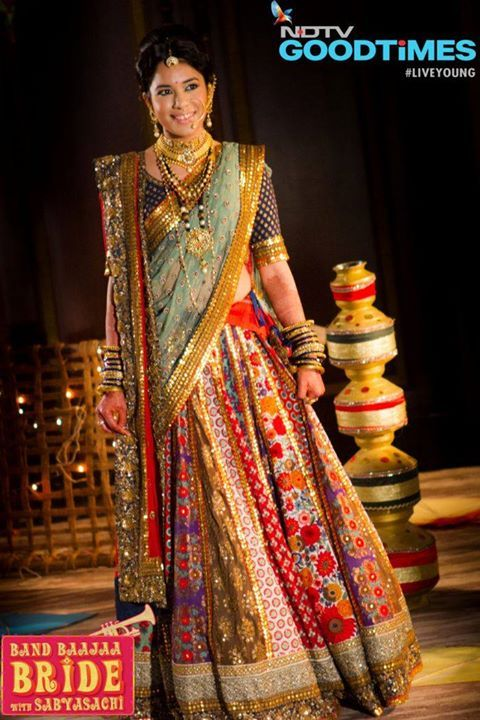 Only Sabyasachi can pull this off.