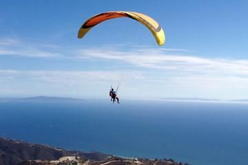 Tandem Paragliding in Malibu $165 - Experience an incredible flight above the beaches of Los Angeles during this tandem Malibu paragliding adventure, offering a 20- or 30-minute ride above the gorgeous scenery of this idyllic coastal town. Join your instructor for either a motorized or non-motorized flight above this stunning coastal landscape, gliding above the deep-blue Pacific Ocean and rolling hills below. Whether you're an experienced paraglider, or just looking to add some thrills.