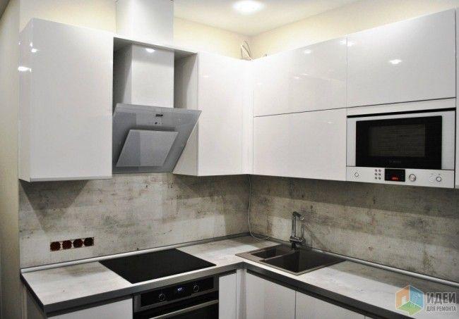 Современный дизайн маленькой кухни - 40 идей 2016 года