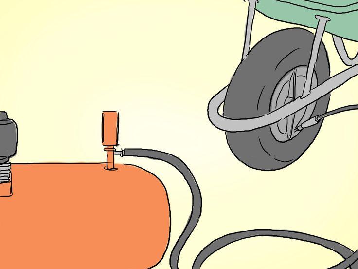 How to Fix a Wheelbarrow Tire (tubeless) -- via wikiHow.com