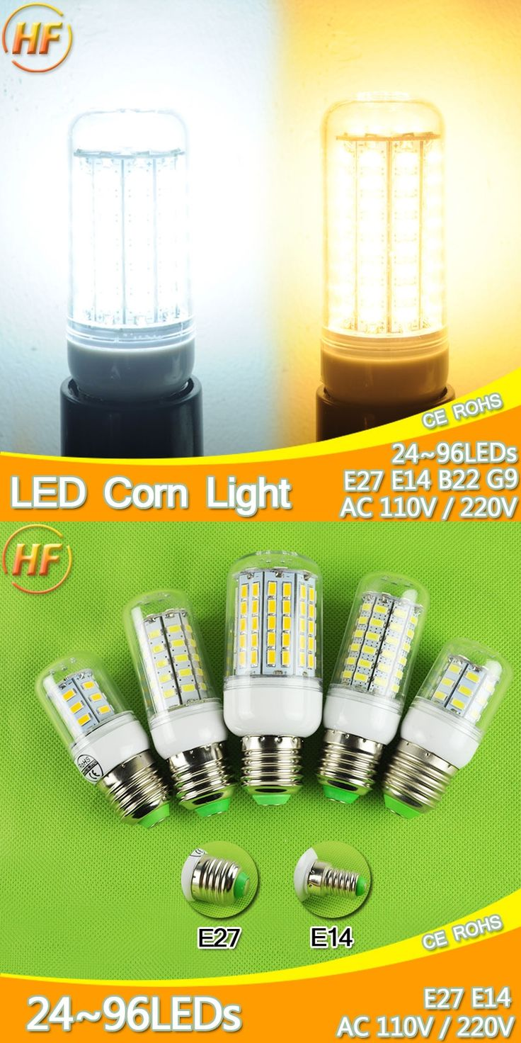 220V 110V 7W~30W lampada led E14 E27 LED Lamp LED Corn Bulb Light 9W 12W 15W 18W 20W LED Lampara Bombilla Ampoule 127v 240v