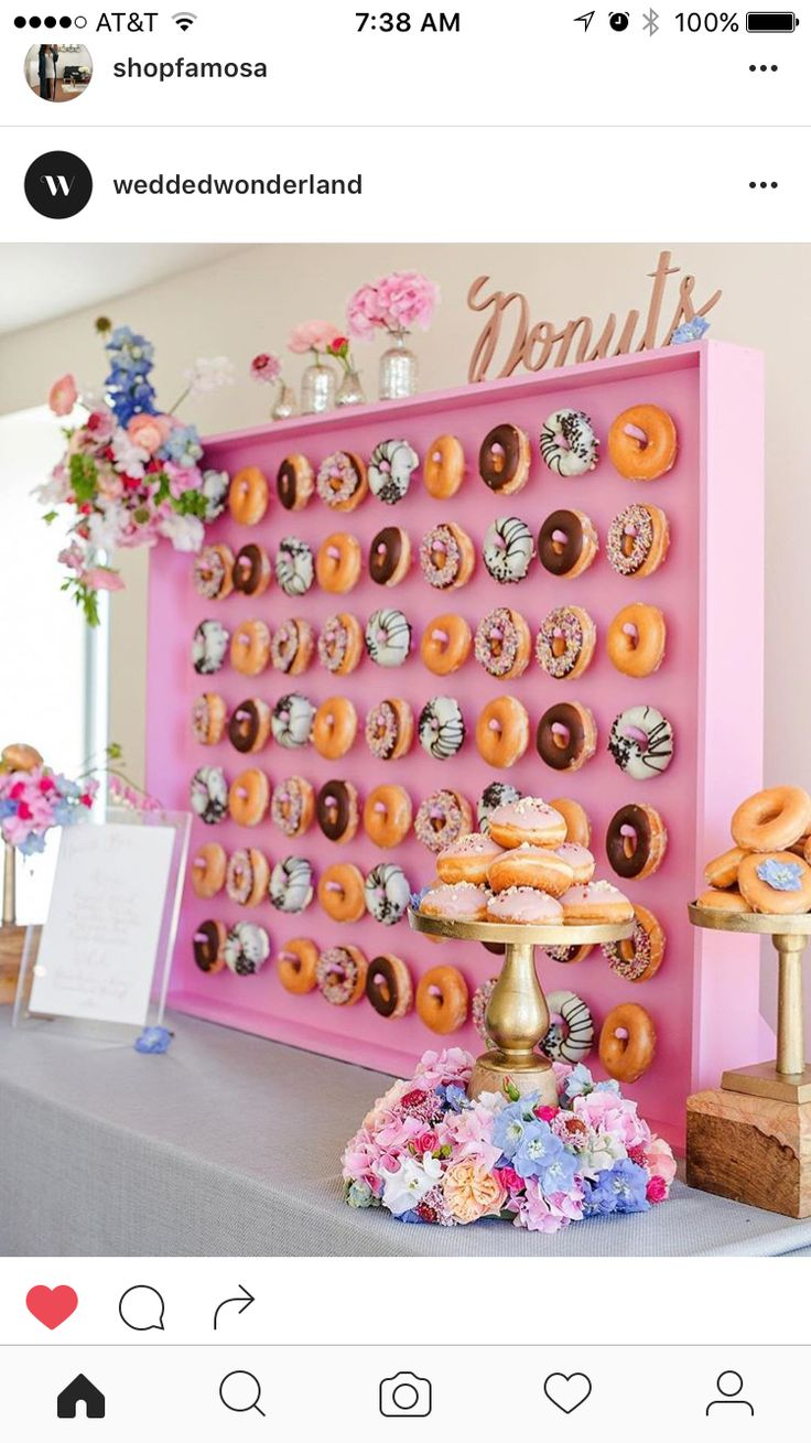 Donut wall                                                                                                                                                                                 More