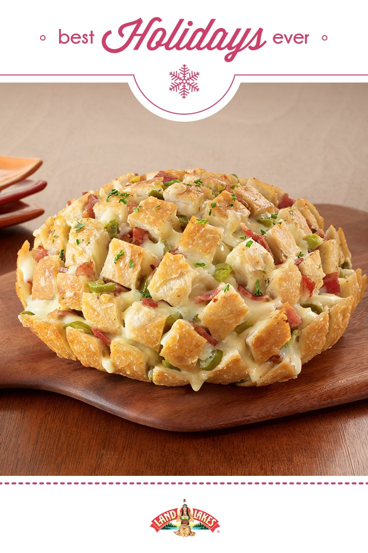 Fully-loaded with bacon, jalapeños and melty cheese. A perfect app for the next holiday party!