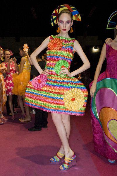 Agatha Ruiz de la Prada at Milan Fashion Week Spring 2009 ...