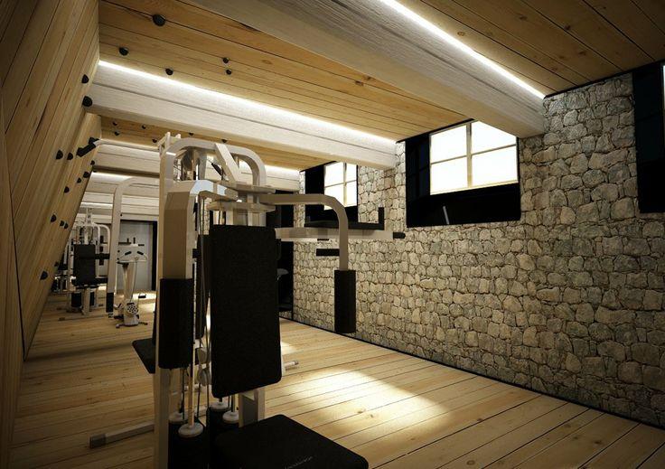 Un-real Studio insieme allo Studio Asaggio si è occupato della progettazione della palestra privata Climbing, nei pressi di Bressanone. La continuità spaziale dell'ambiente dedicato all'attività fisica è dettata dal tema della palestra di arrampicata, ricavata tramite assemblaggio di tavole in abete naturale che corrono dal pavimento alla parete , continuando sul soffitto.