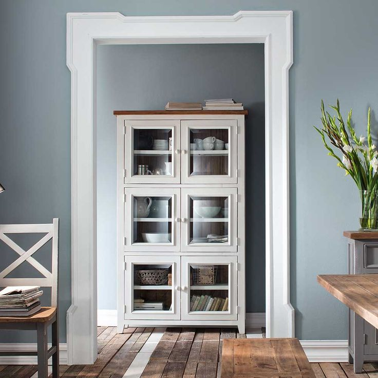 8 best Highboard images on Pinterest Cabinet, Closet and Homes - wohnzimmer in weiss braun