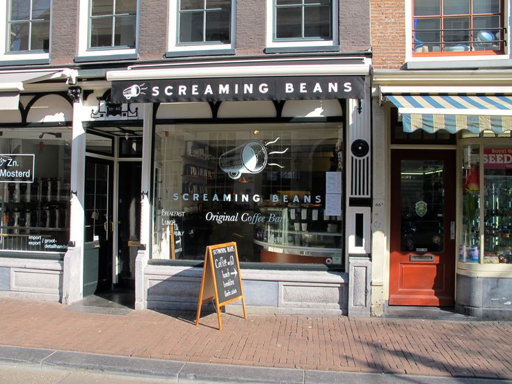 Screaming Beans has a new location in the heart of the Haarlemmerstraat at the top of the Jordaan, serving great coffee and light snacks.