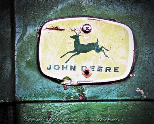 like this worn john deere logo http://www.SeedingAbundance.com http://www.marjanb.myShaklee.com: John Deere Tractors, Farm, Stuff, Country Girls, Green, Country Life, Photo