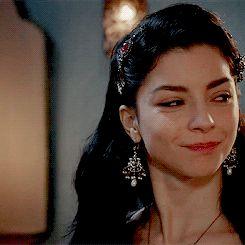 Turkish Merve Boluğur as Nurbanu Sultan - Magnificent Century - Season 4