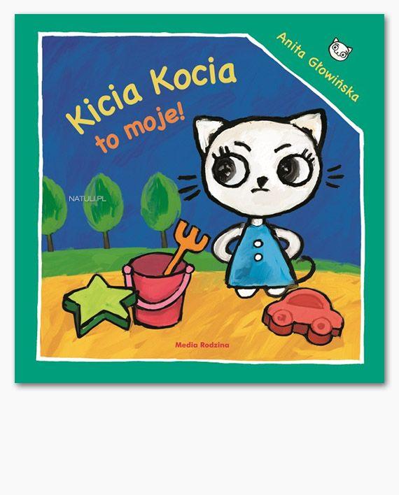 W kolejnej książce z serii Kicia Kocia bawi się ze swoim przyjacielem Packiem w sklep. Jednak zabawa się nie udaje, bo Kicia Kocia nie chce się dzielić swoimi zabawkami. To samo dzieje się następnego dnia w piaskownicy. Czy przyjaciele nadal będą chcieli się z nią bawić?