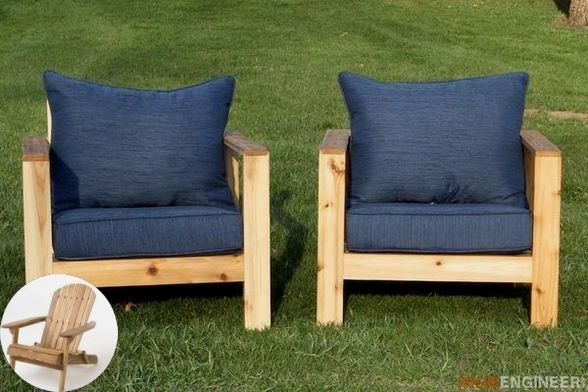 Wood Patio Furniture In 2020 With Images Wood Patio Furniture Pallet Patio Furniture Diy Comfortable Outdoor Furniture