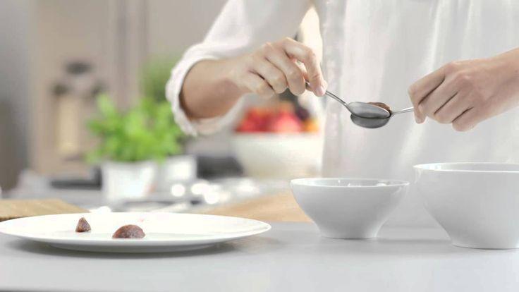 [Recette] Comment faire des quenelles ? #ChefCuisine #MonChefCuisine #gastronomiealamaison #gastronomie #AnneSophiePic #food #cordonbleu #french #chef #foodie