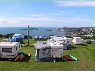 caravans and camping in Cornwall