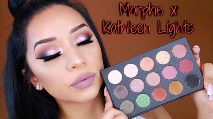 morphe x kathleen lights palette makeup look ohmglashes
