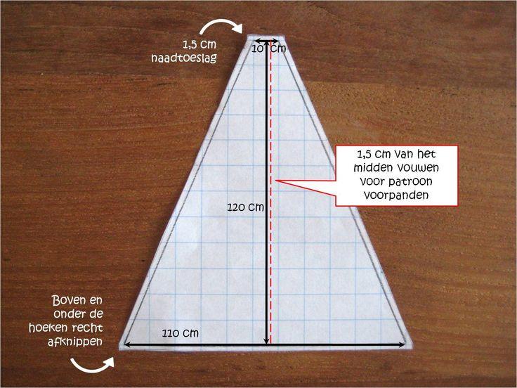 Hier een beschrijving van de wigwam die ik maakte! Ik had geen stap-voor-stap foto's gemaakt, dus hier volgt een uitleg met behulp van e...